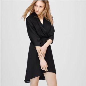 Aritzia Babaton Cuthbert Silk Dress